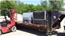 Large TVs on a Trailer