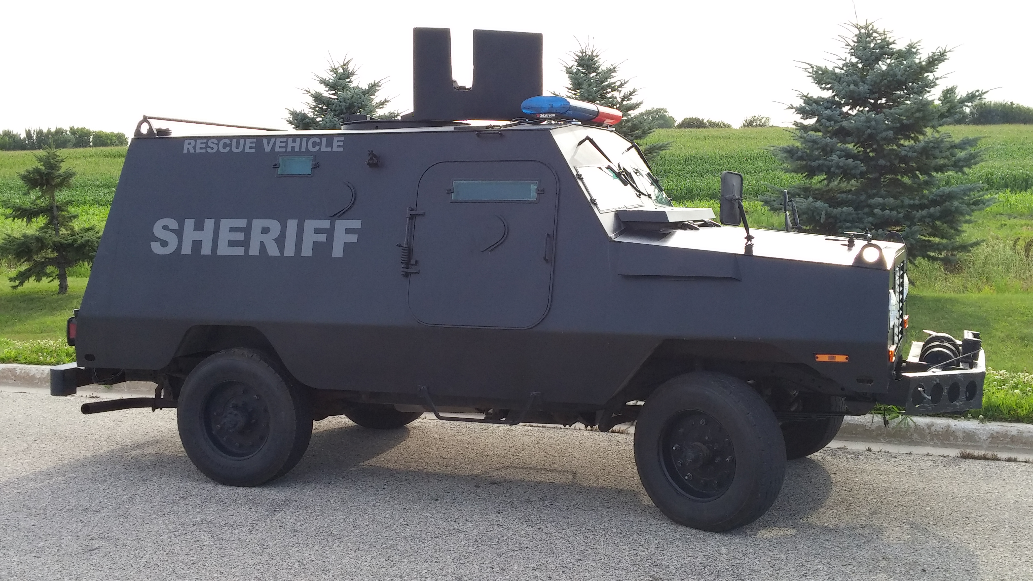 Sheriff Rescue Vehicle