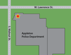 Appleton Police Department Map