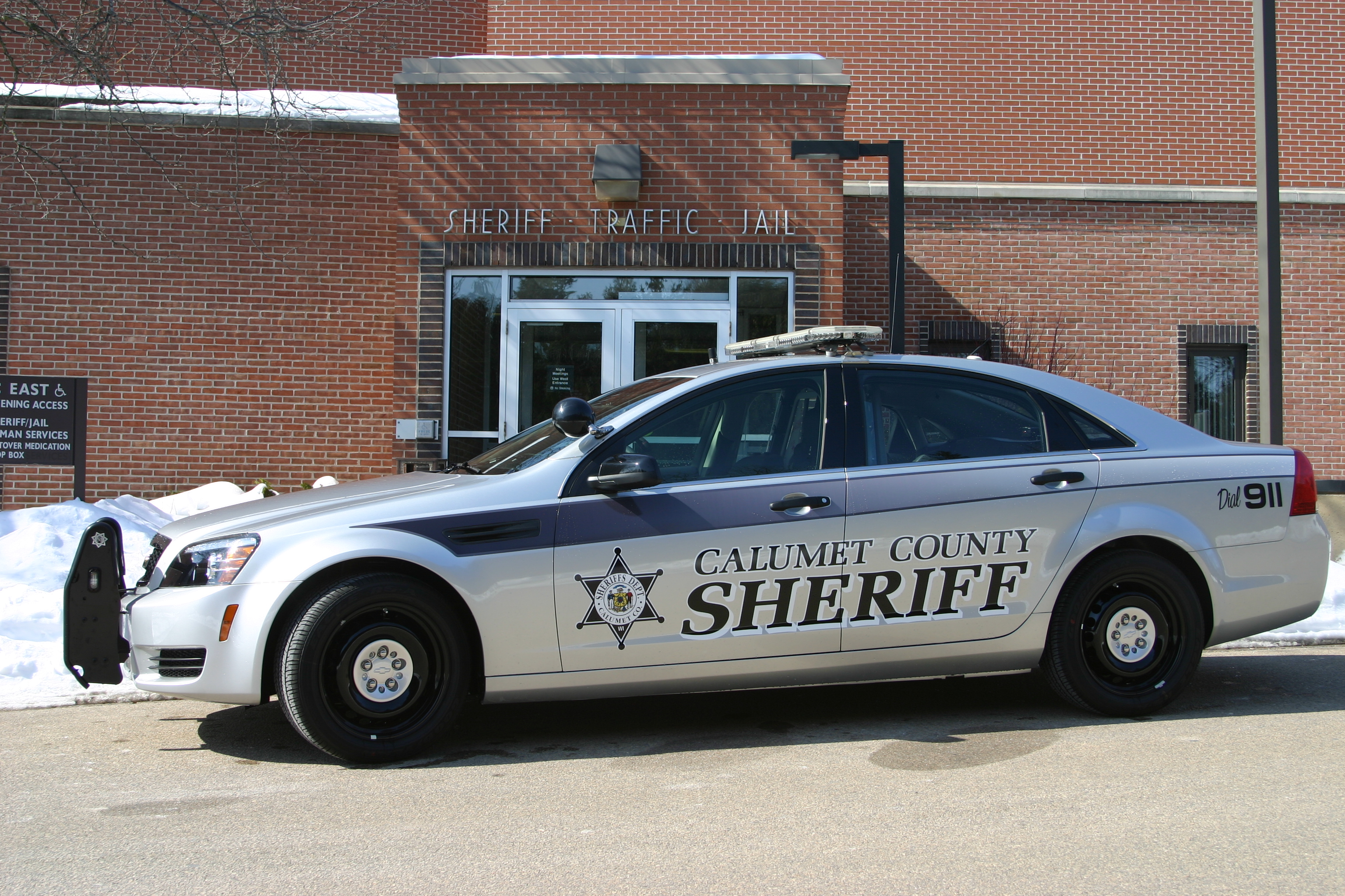 Calumet County Squad Car